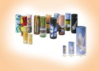 decorated scatter tube ash urn examples