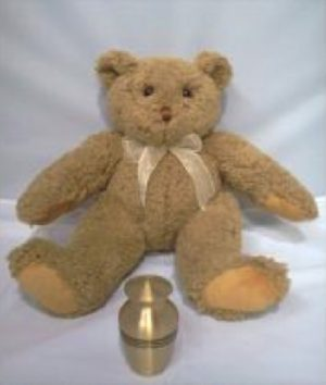 teddy bear keepsake for ashes